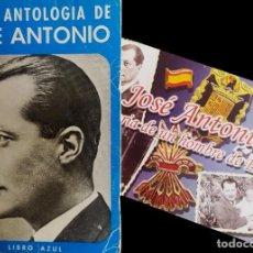Libros de segunda mano: BREVE ANTOLOGIA DE JOSE ANTONIO PRIMO DE RIVERA / LIBRO AZUL/ ED. UMBRAL 1971. Lote 263147215