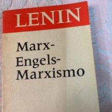 Libros de segunda mano: LENIN, ENGELS, MARXISMO,. Lote 263557320