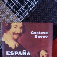 Libros de segunda mano: LIBRO ESPAÑA NO ES UN MITO. CLAVES PARA UNA DEFENSA RAZONADA. PRIMERA EDICIÓN. Lote 263559265