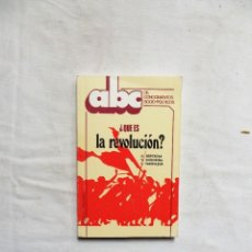 Libros de segunda mano: ¿ QUE ES LA REVOLUCION ? DE A. SERTSOVA , V. SHISHKINA , L. YAKOVLEVA. Lote 263566970
