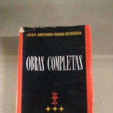 Libros de segunda mano: OBRAS COMPLETAS - JOSÉ ANTONIO PRIMO DE RIVERA.. Lote 263591780