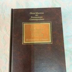 Libros de segunda mano: JAMES M. BUCHANAN,EL CÁLCULO DEL CONSENSO. Lote 263660860