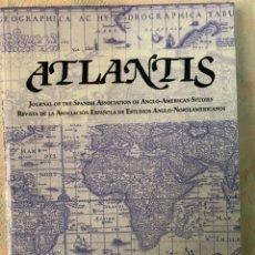 Libros de segunda mano: ATLANTIS REVISTA DE LA ASOCIACIÓN ESPAÑOLA DE ESTUDIOS ANGLO NORTEAMERICANO, JUNIO 2019. Lote 264251992
