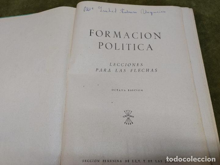 Libros de segunda mano: FORMACION POLITICA LECCIONES PARA LAS FLECHAS SECCION FET Y JONS FALANGE DIVISION AZUL FRANCO - Foto 4 - 264458669