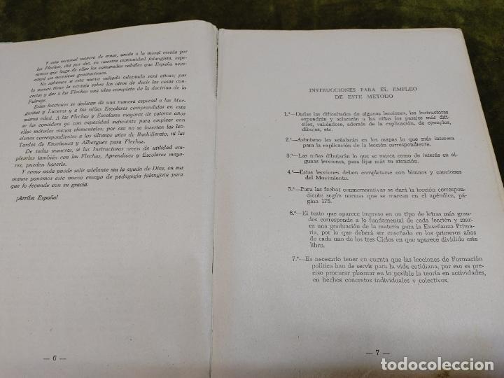 Libros de segunda mano: FORMACION POLITICA LECCIONES PARA LAS FLECHAS SECCION FET Y JONS FALANGE DIVISION AZUL FRANCO - Foto 7 - 264458669