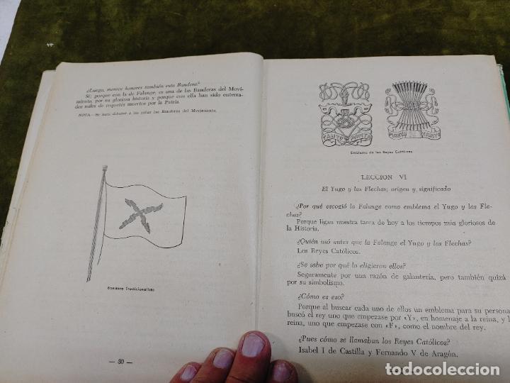 Libros de segunda mano: FORMACION POLITICA LECCIONES PARA LAS FLECHAS SECCION FET Y JONS FALANGE DIVISION AZUL FRANCO - Foto 11 - 264458669