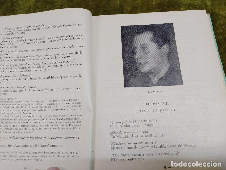 Libros de segunda mano: FORMACION POLITICA LECCIONES PARA LAS FLECHAS SECCION FET Y JONS FALANGE DIVISION AZUL FRANCO - Foto 12 - 264458669