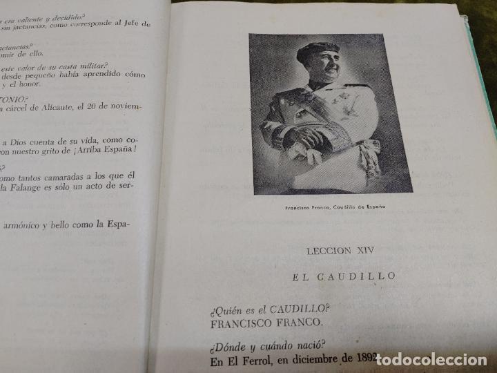 Libros de segunda mano: FORMACION POLITICA LECCIONES PARA LAS FLECHAS SECCION FET Y JONS FALANGE DIVISION AZUL FRANCO - Foto 13 - 264458669