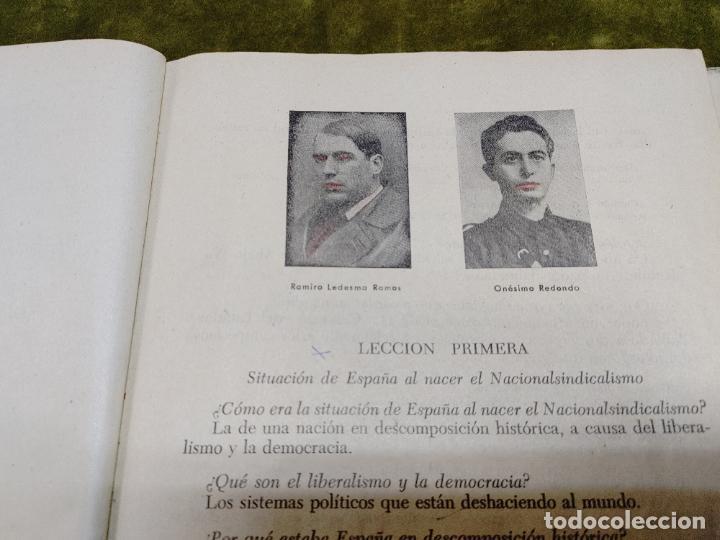Libros de segunda mano: FORMACION POLITICA LECCIONES PARA LAS FLECHAS SECCION FET Y JONS FALANGE DIVISION AZUL FRANCO - Foto 14 - 264458669