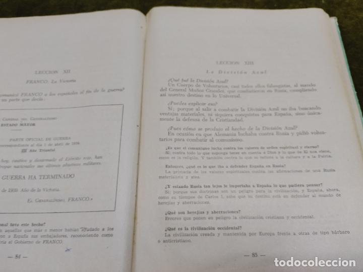 Libros de segunda mano: FORMACION POLITICA LECCIONES PARA LAS FLECHAS SECCION FET Y JONS FALANGE DIVISION AZUL FRANCO - Foto 17 - 264458669