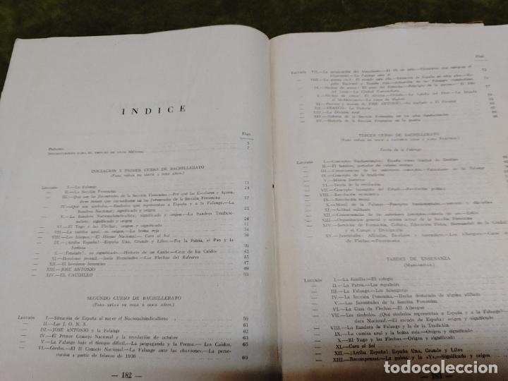 Libros de segunda mano: FORMACION POLITICA LECCIONES PARA LAS FLECHAS SECCION FET Y JONS FALANGE DIVISION AZUL FRANCO - Foto 18 - 264458669