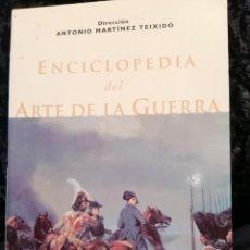 Livres d'occasion: ENCICLOPEDIA DEL ARTE DE LA GUERRA. Lote 266802544