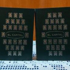 Libri di seconda mano: EL CAPITAL / CARL MARX (TOMO I Y II) OBRA COMPLETA.. Lote 267743019