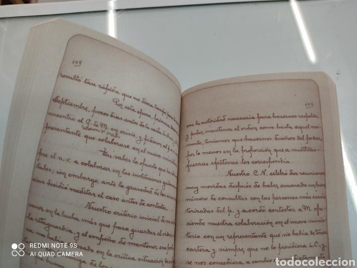 Libros de segunda mano: DIARIO DE UN ABERTZALE FACSIMIL FUNDACION SABINO ARANA LUCIO DE ARTETXE Y ARANA PNV PAIS VASCO - Foto 4 - 268116179