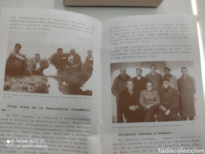 Libros de segunda mano: DIARIO DE UN ABERTZALE FACSIMIL FUNDACION SABINO ARANA LUCIO DE ARTETXE Y ARANA PNV PAIS VASCO - Foto 6 - 268116179