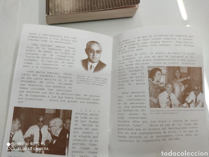 Libros de segunda mano: DIARIO DE UN ABERTZALE FACSIMIL FUNDACION SABINO ARANA LUCIO DE ARTETXE Y ARANA PNV PAIS VASCO - Foto 8 - 268116179