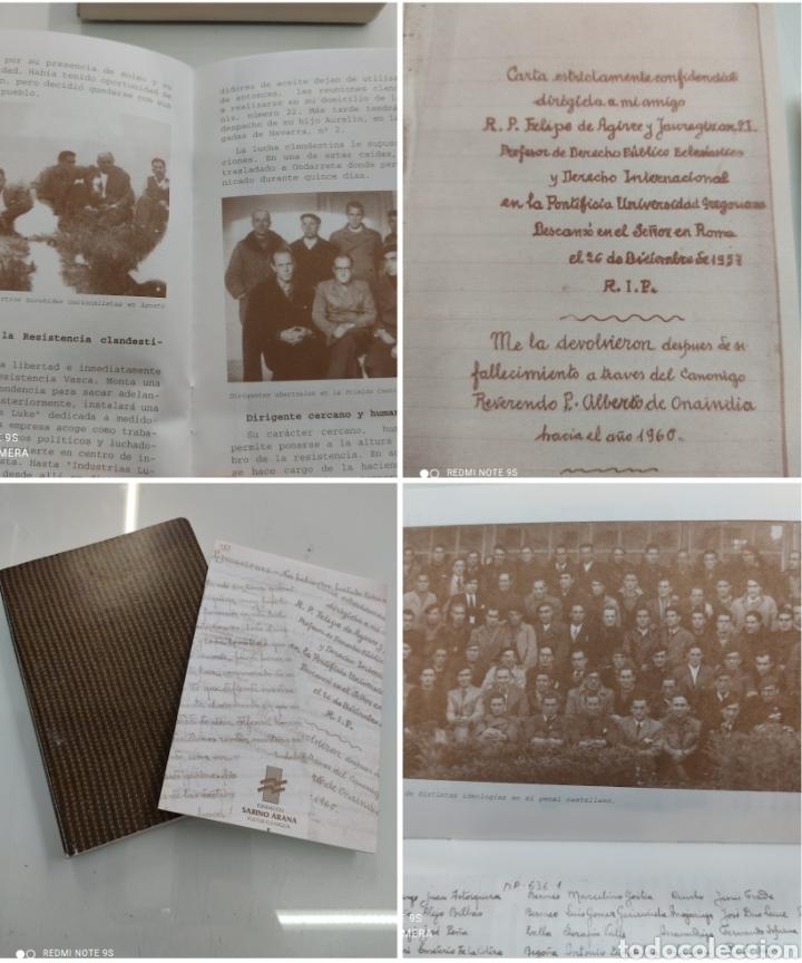 DIARIO DE UN ABERTZALE FACSIMIL FUNDACION SABINO ARANA LUCIO DE ARTETXE Y ARANA PNV PAIS VASCO (Libros de Segunda Mano - Pensamiento - Política)