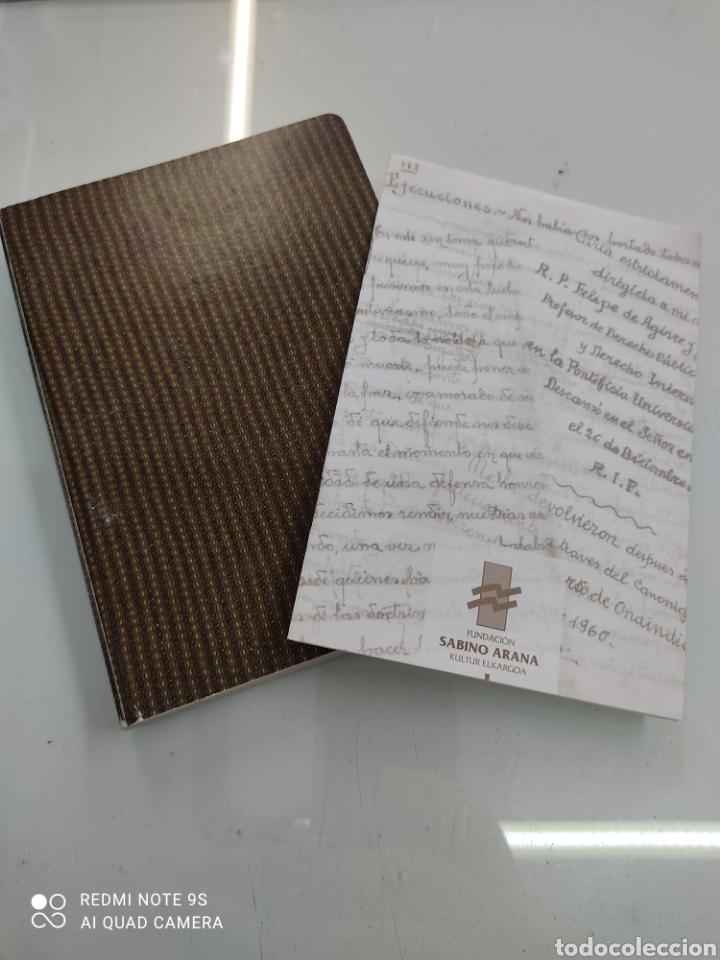 Libros de segunda mano: DIARIO DE UN ABERTZALE FACSIMIL FUNDACION SABINO ARANA LUCIO DE ARTETXE Y ARANA PNV PAIS VASCO - Foto 2 - 268116179
