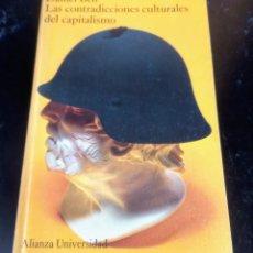 Libros de segunda mano: LAS CONTRADICCIONES CULTURALES DEL CAPITALISMO - DANIEL BELL - ALIANZA UNIVERSIDAD. Lote 268954054