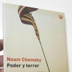 Livros em segunda mão: PODER Y TERROR - NOAM CHOMSKY. Lote 269288713