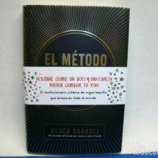 Libros de segunda mano: EL METODO BULLET JOURNAL EXAMINA TU PASADO. ORDENA TU PRESENTE. DISEÑA TU FUTURO. Lote 269973103