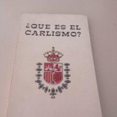 Livros em segunda mão: ¿QUE ES EL CARLISMO? CENTRO ESTUDIOS GENERAL ZUMALACARREGUI REF. UR CAJA 6. Lote 275231368