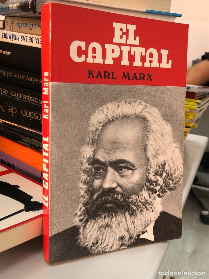 EL CAPITAL - KARL MARX - ANTALBE (Libros de Segunda Mano - Pensamiento - Política)