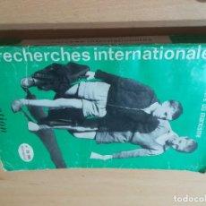 Libros de segunda mano: A LA LUMIERE DU MARXISME, L´EDUCATION / EN FRANCES / RECHERCHES INTERNATIONALES / AL95. Lote 279435713
