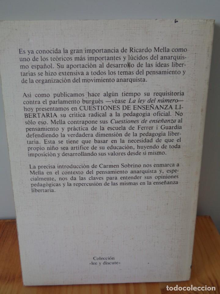 Libros de segunda mano: ¡¡ ANARQUISMO, SOCIALISMO. Federico ENGELS. 4 LIBRITOS. !! - Foto 2 - 282489053