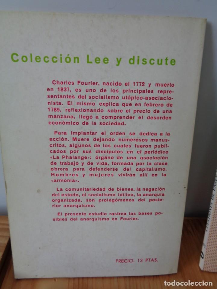 Libros de segunda mano: ¡¡ ANARQUISMO, SOCIALISMO. Federico ENGELS. 4 LIBRITOS. !! - Foto 4 - 282489053