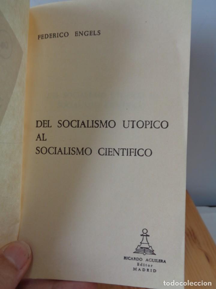 Libros de segunda mano: ¡¡ ANARQUISMO, SOCIALISMO. Federico ENGELS. 4 LIBRITOS. !! - Foto 5 - 282489053