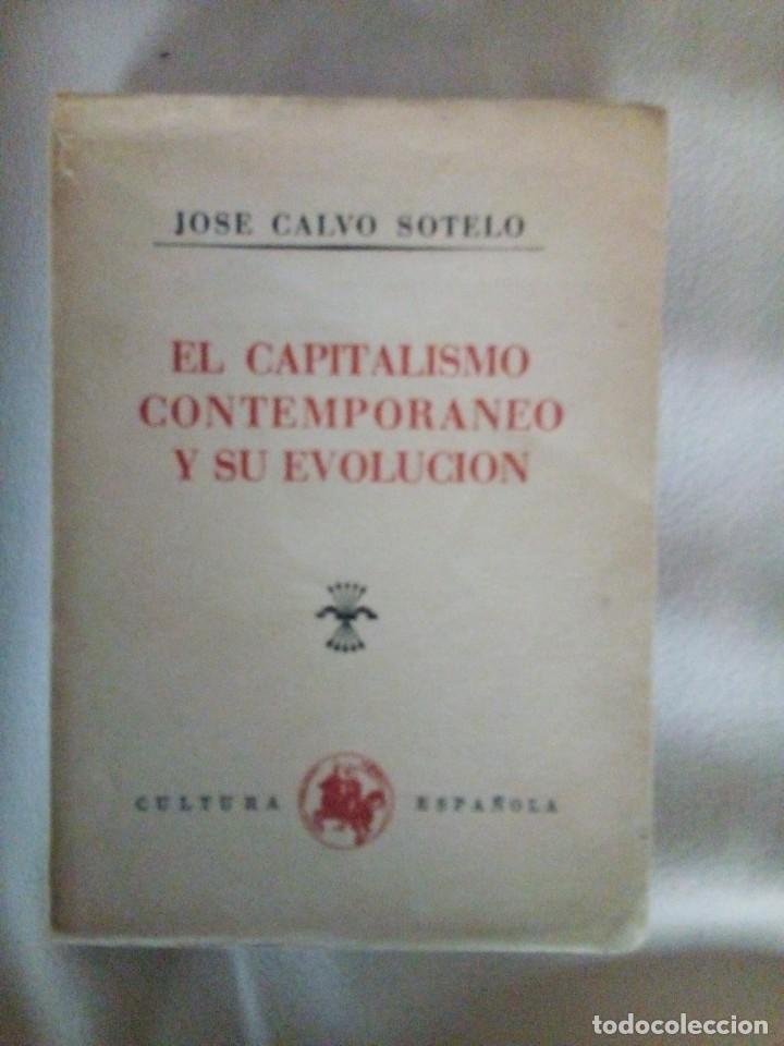 EL CAPITALISMO COMTEMPORANEO Y SUVEVOLUCION (Libros de Segunda Mano - Pensamiento - Política)