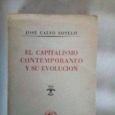 Libros de segunda mano: EL CAPITALISMO COMTEMPORANEO Y SUVEVOLUCION. Lote 284029638