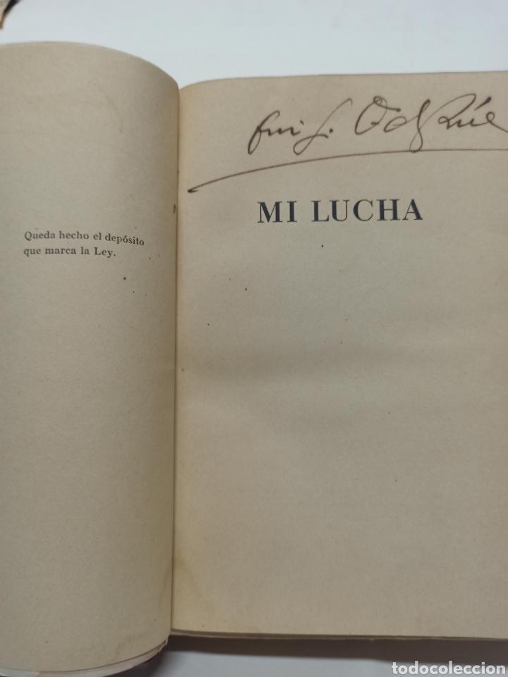 Libros de segunda mano: ADOLF HITLER: MI LUCHA, 2ª EDICIÓN: AVILA, 1937, ENCUADERNADO EN MEDIA PIEL CONSERVA CUBIERTA. - Foto 11 - 286335083