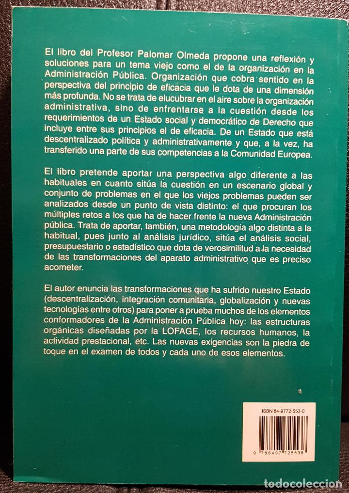 Libros de segunda mano: EL NUEVO PAPEL DE LA ADMINISTRACION GENERAL DEL ESTADO - LIBRO - CIENCIAS POLITICAS - NO USO CORREOS - Foto 2 - 286540203