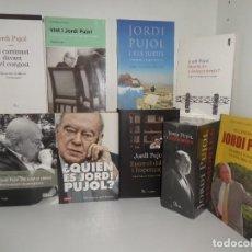 Libros de segunda mano: JORDI PUJOL - LOTE DE 11 LIBROS / MEMORIES / ENTRE EL DOLOR I LESPERANÇA ... DISPONGO DE MAS LIBROS. Lote 287067273