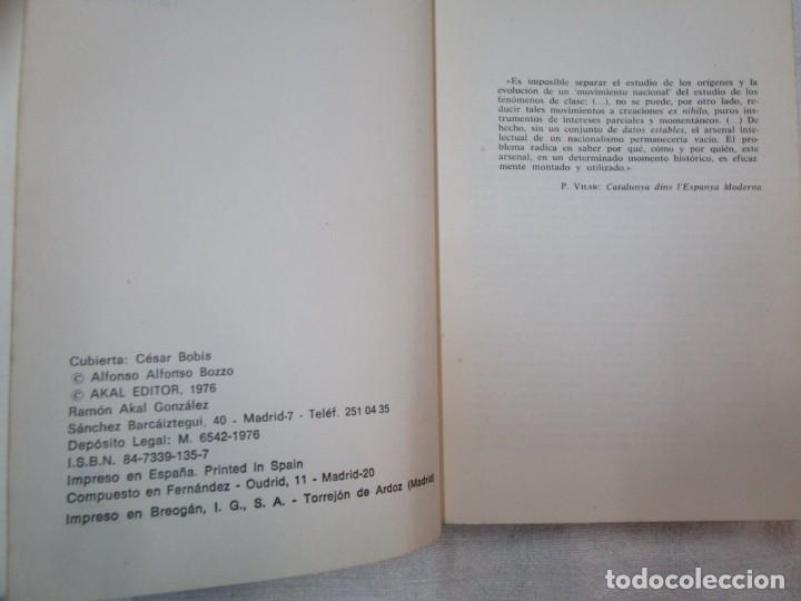 Libros de segunda mano: LOS PARTIDOS PLITICOS Y LA AUTONOMIA EN GALICIA 1931/1936 - ALFONSO BOZZO - AKAL 1976 + INFO - Foto 2 - 287335188