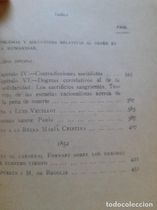 Libros de segunda mano: Textos politicos, Juan Donoso Cortes, ed. Rialp. 1954 - Foto 9 - 288495708