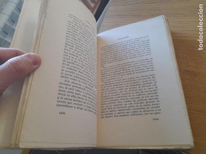 Libros de segunda mano: Politica. Historia del LIberalismo Esuropeo, Guido de Ruggiero, Ediciones Pegaso, 1944 - Foto 7 - 288505908