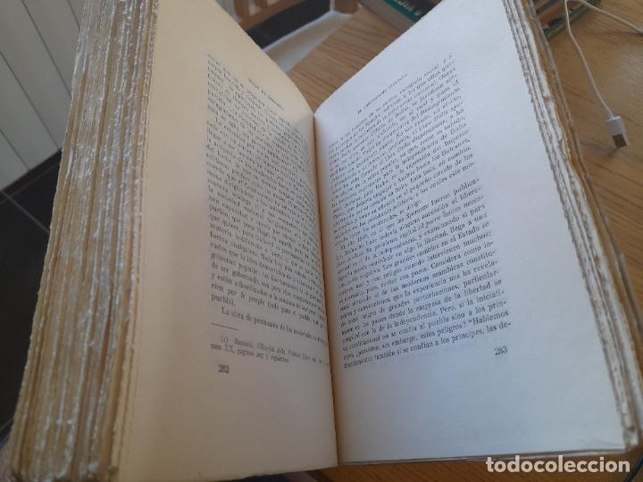 Libros de segunda mano: Politica. Historia del LIberalismo Esuropeo, Guido de Ruggiero, Ediciones Pegaso, 1944 - Foto 8 - 288505908