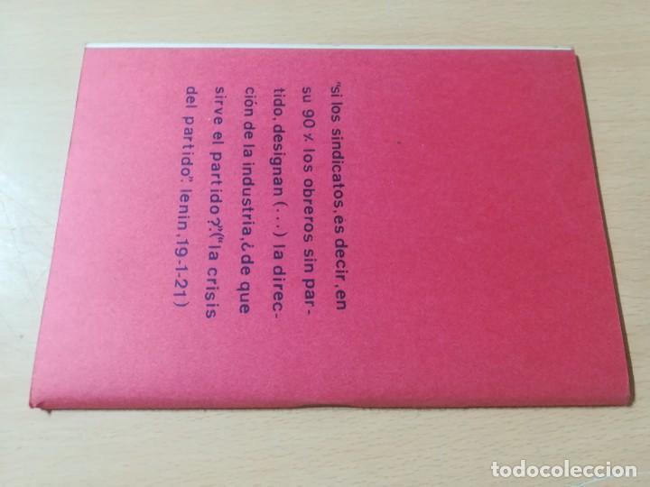 Libros de segunda mano: APUNTES HISTORICOS AUTOGESTIONARIOS / COLECTIVO AUTOGESRIONARIO DE VALENCIA / DERSA / AK11 - Foto 2 - 288516148