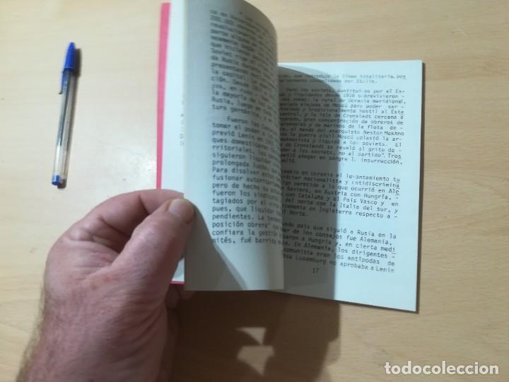 Libros de segunda mano: APUNTES HISTORICOS AUTOGESTIONARIOS / COLECTIVO AUTOGESRIONARIO DE VALENCIA / DERSA / AK11 - Foto 6 - 288516148