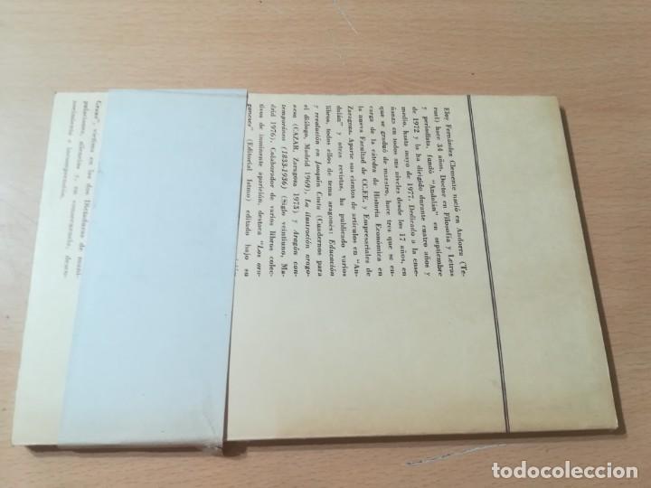 Libros de segunda mano: JOAQUIN COSTA Y EL AFRICANISMO ESPAÑOL / ELOY FERNANDEZ / / AK11 - Foto 2 - 288526673