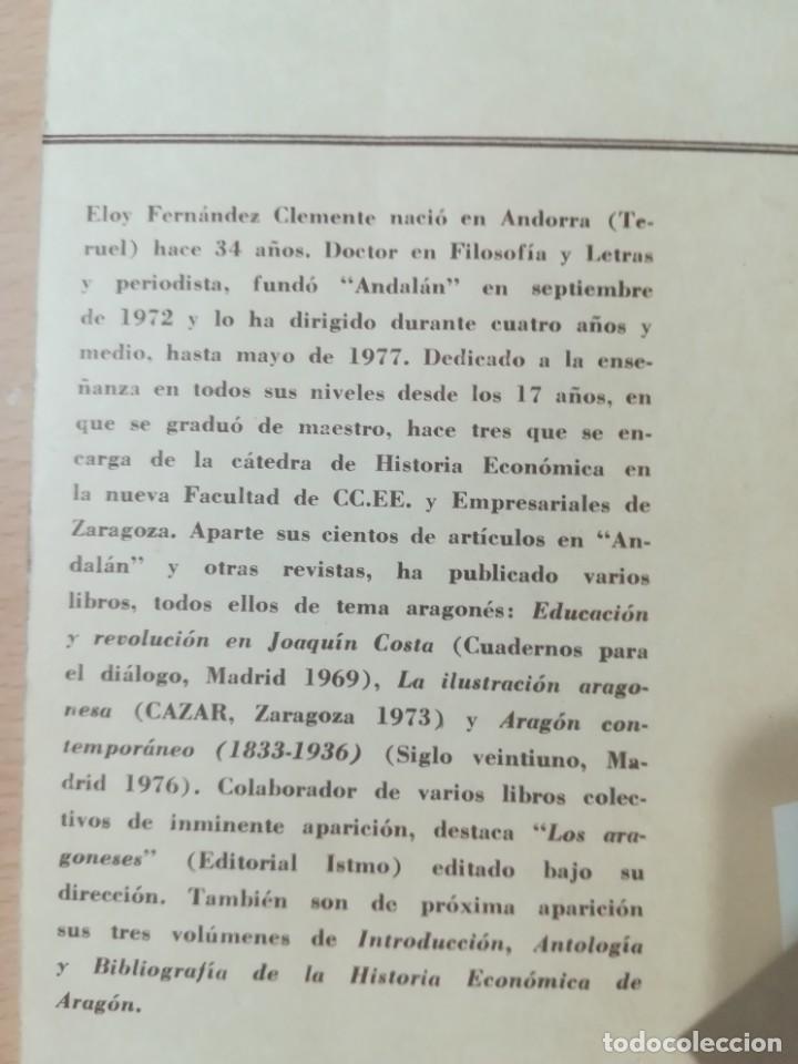 Libros de segunda mano: JOAQUIN COSTA Y EL AFRICANISMO ESPAÑOL / ELOY FERNANDEZ / / AK11 - Foto 3 - 288526673