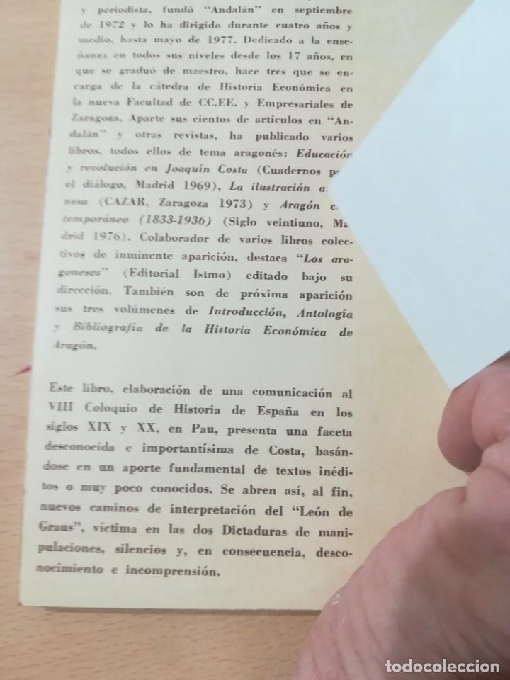 Libros de segunda mano: JOAQUIN COSTA Y EL AFRICANISMO ESPAÑOL / ELOY FERNANDEZ / / AK11 - Foto 4 - 288526673