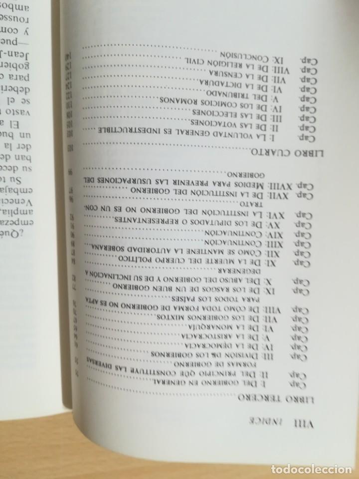 Libros de segunda mano: EL CONTRATO SOCIAL / JEAN JACQUES ROUSSEAU / ALTAYA / AK78 - Foto 7 - 288530523