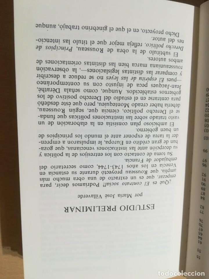 Libros de segunda mano: EL CONTRATO SOCIAL / JEAN JACQUES ROUSSEAU / ALTAYA / AK78 - Foto 8 - 288530523