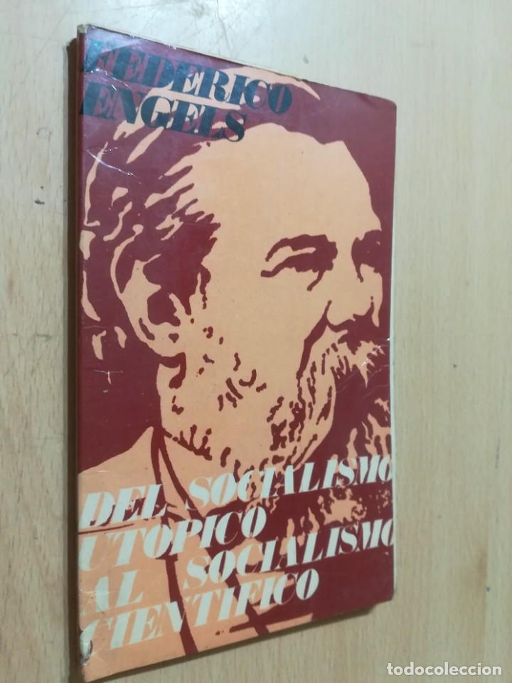 DEL SOCIALISMO UTOPICO AL SOCIALISMO CIENTIFICO / FEDERICO ENGELS / RICARDO AGUILERA / AK45 (Libros de Segunda Mano - Pensamiento - Política)