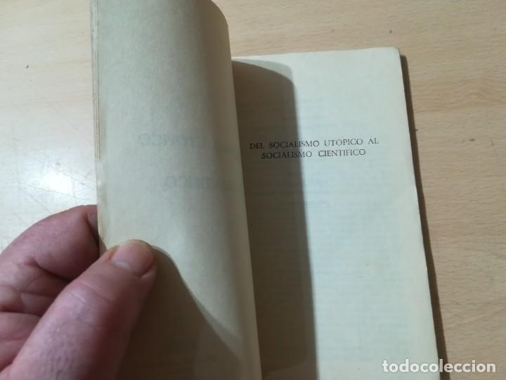 Libros de segunda mano: DEL SOCIALISMO UTOPICO AL SOCIALISMO CIENTIFICO / FEDERICO ENGELS / RICARDO AGUILERA / AK45 - Foto 7 - 288530793
