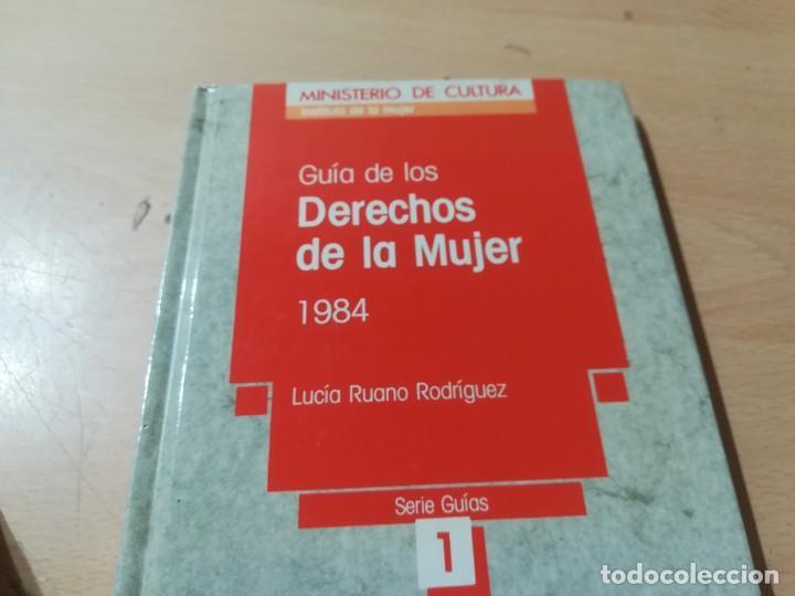 Libros de segunda mano: GUIA DE LOS DERECHOS DE LA MUJER 1984 / LUCIA RUANO / GUIAS 1 MINISTERIO CULTURA / AK72 - Foto 3 - 288530943